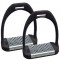 Hyper Nylon Plastic Stirrup Irons with Metal Treads