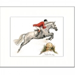 Jan Kunster Horse Prints - Herbstnebel 3 (Fox Hunting)