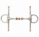 JP KORSTEEL COPPER BALL LINK FULL CHEEK SNAFFLE