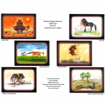 Jude Too Colored Humorous Horse Placemats