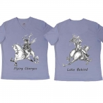 "Jude Too Horse Tee Shirt ""Flying Lead Changes"""