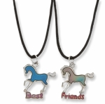 "Kelley Equestrian ""Best Friends"" Mood Necklace Set"