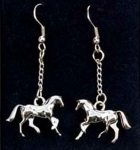 Kelley Equestrian Cantering Horse Earrings