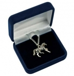 Kelley Equestrian Cantering Horse Necklace