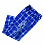Kelley Equestrian Dream High Blue Horse Flannel Lounge Pant