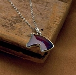 Kelley Equestrian Horse Head Mood Necklace