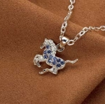 Kelley Equestrian Kid's Galloping Horse Necklace