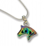 Kelley Equestrian Living Opal Mood Horse Necklace and Earring Set