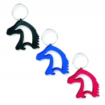 Kelley Horse Head Bottle Opener Key Chain