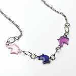 Kelley Horse Heads Mood Necklace - Multi