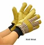 Kinco Cold Weather Work Gloves with Knit Wrist