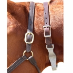 Leather Crown Nutcracker Cribbing Strap