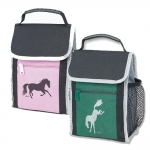 Lila Galloping Horse Lunch Tote Bag