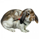 Lop Ear Rabbit Shaped Clock