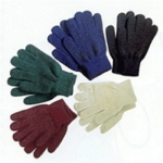 Magic Pimple Gloves Burgundy