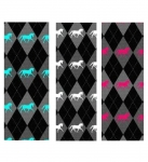 Manestreet USA Argyle Knee High Socks