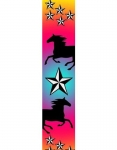 Manestreet USA Horse and Stars Knee High Socks