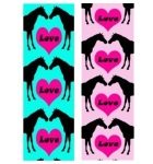 Manestreet USA Love Horses Knee High Socks