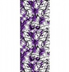 Manestreet USA Purple Butterflies Knee High Socks