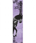 Manestreet USA Purple Dressage Knee High Socks