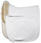 Merino Sheepskin Dressage Square Saddle Pad