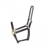 Miniature Horse Leather Halter - Lg