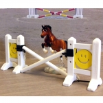 Model Horse Jump Stablemate Size - Smiley