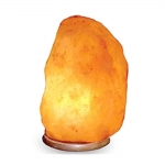 "Natural Himalayan Salt Crystal Lamp 7 - 9"" Tall"