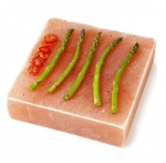 Natural Himalayan Salt Plank Large Square - 8x8x2