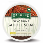Oakwood Glycerine Saddle Soap - 5oz