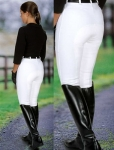 On Course Cotton Naturals Ladies Full Seat Breeches