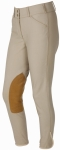 ON COURSE LADIES PYTCHLEY EURO SEAT FRONT ZIP BREECHES