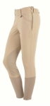 ON COURSE PRIME PERFORMANCE SIDE ZIP BREEECHES BEIGE 24 REGULAR