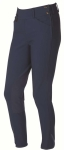 ON COURSE PYTCHLEY EURO SEAT LOW RISE SIDE ZIP BREECHES CHARCOAL LADIES 24 REGULAR