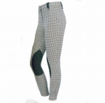 ON COURSE REGAL EURO SEAT BREECHES SPRING CHECK LADIES 24 REGULAR