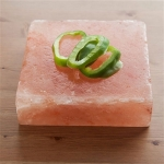 Natural Himalayan Salt Plank Small Square - 6x6x2