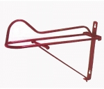 Partrade Wall Saddle Rack Red 24 In