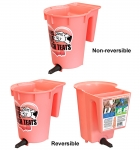 Peach Teats 1-Calf Bucket Regular or Reversible