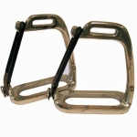 Peacock Stirrup Irons no Pads - 4""