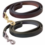 Perri's Leather Plain Leather Dog Leash