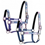 Perri's Paisley/Flower Padded Nylon Safety Halter