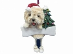 Personalized Dangling Dog Ornament - Cairn Terrier
