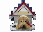 Personalized Doghouse Ornament - AiRedale