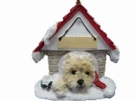 Personalized Doghouse Ornament - Cairn Terrier