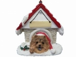 Personalized Doghouse Ornament - Chow