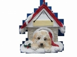 Personalized Doghouse Ornament - Cockapoo