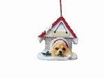 Personalized Doghouse Ornament - Cocker Spaniel