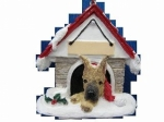 Personalized Doghouse Ornament - Great Dane