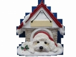 Personalized Doghouse Ornament - Havanese