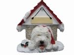 Personalized Doghouse Ornament - Old English Sheepdog